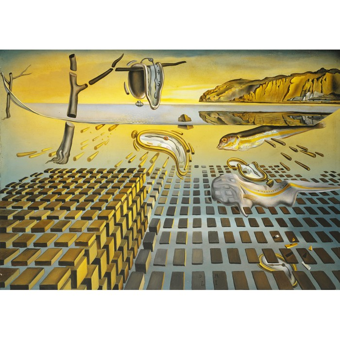Puzzle Art-by-Bluebird-60111 Salvador Dalí - The Corpuscular Persistence of Memory, 1952-1954