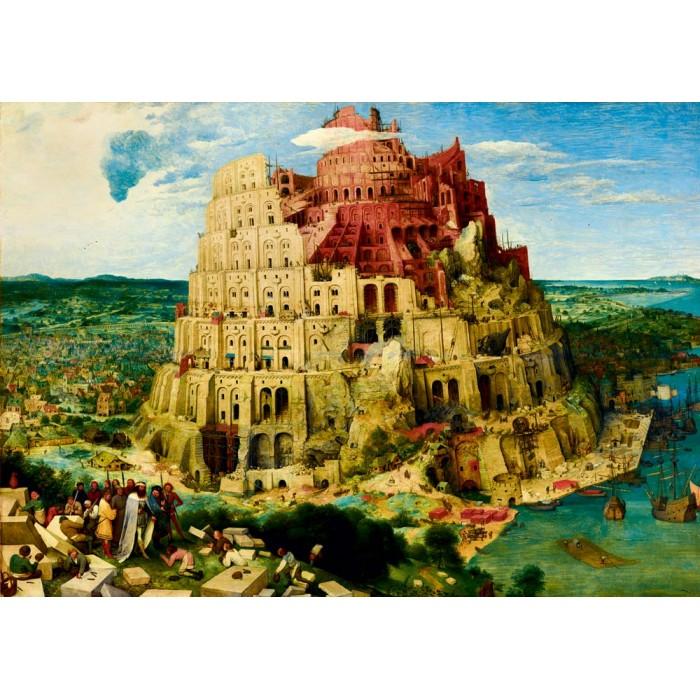 Puzzle Art-by-Bluebird-F-60201 Pieter Bruegel the Elder - The Tower of Babel, 1563
