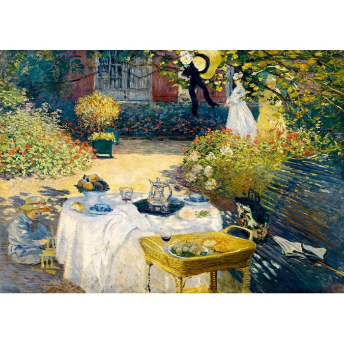 Puzzle Art-by-Bluebird-F-60203 Claude Monet - The Lunch, 1873