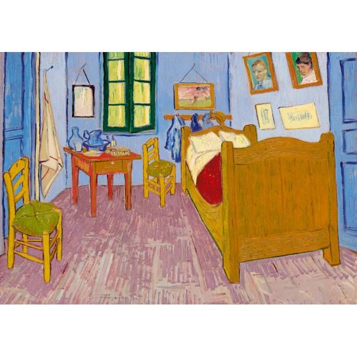 Puzzle Art-by-Bluebird-Puzzle-60004 Vincent Van Gogh - Bedroom in Arles, 1888