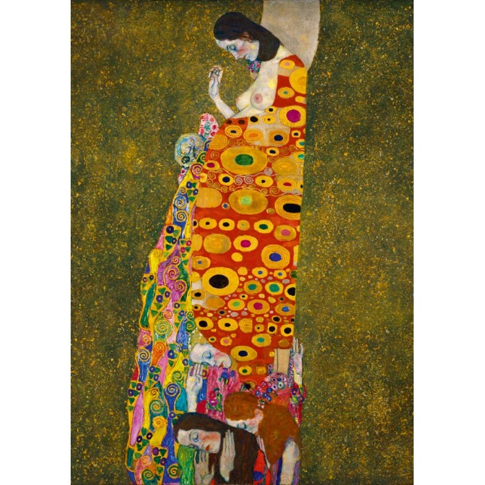 Puzzle Art-by-Bluebird-Puzzle-60022 Gustave Klimt - Hope II, 1908