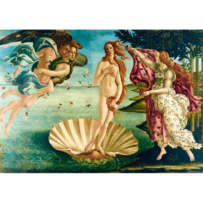 Puzzle Art-by-Bluebird-Puzzle-60055 Botticelli - The birth of Venus, 1485