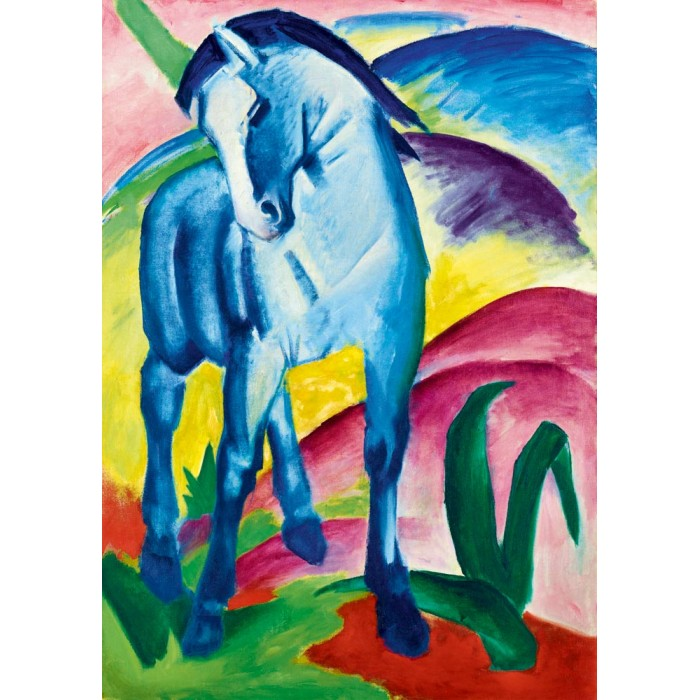 Puzzle Art-by-Bluebird-Puzzle-60069 Franz Marc - Blue Horse I, 1911