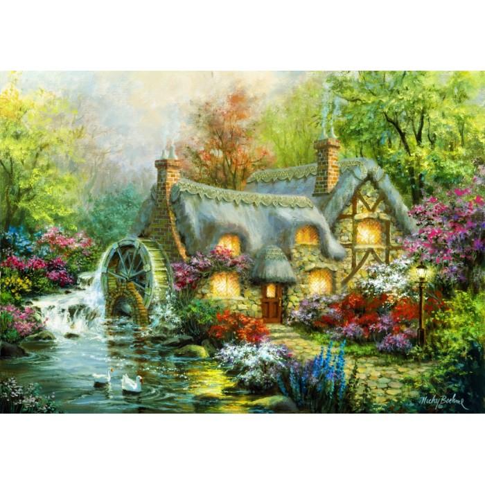 Puzzle Bluebird-Puzzle-70063 Country Retreat