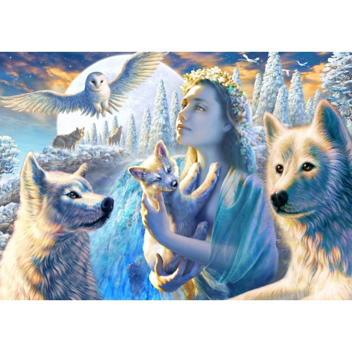 Puzzle Bluebird-Puzzle-70108 Spirit of the Mountain
