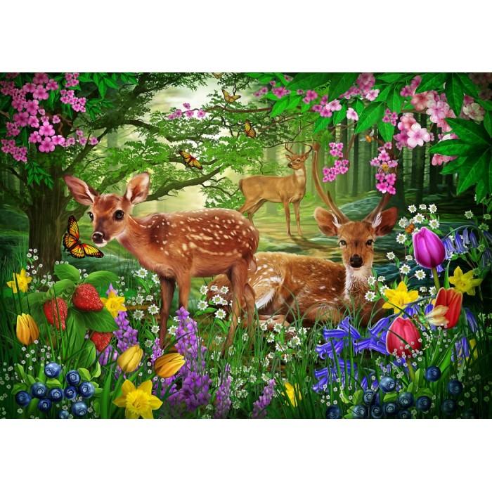 Puzzle Bluebird-Puzzle-70166 Spirit of Spring