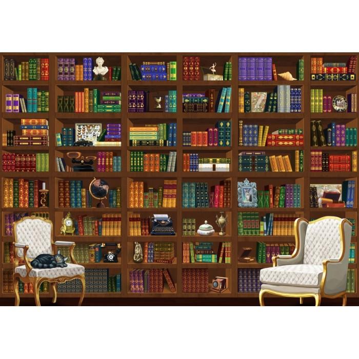 Puzzle Bluebird-Puzzle-70252-P The Vintage Library