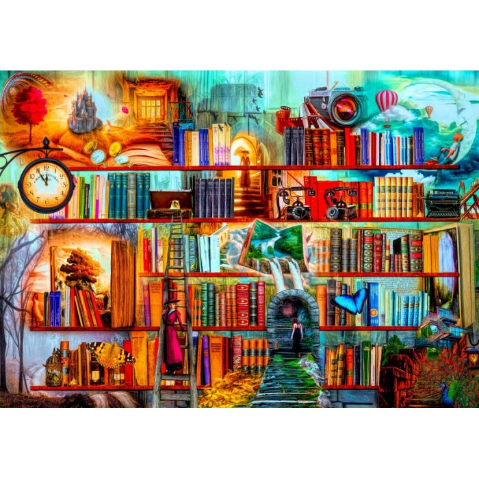 Puzzle Bluebird-Puzzle-70280 Mystery Writers