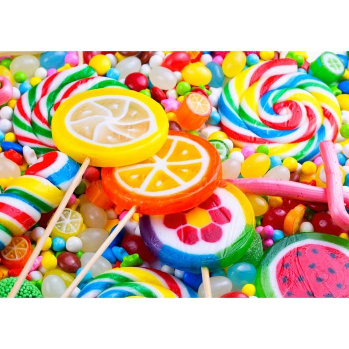 Puzzle Bluebird-Puzzle-70379 Colorful Lollipops