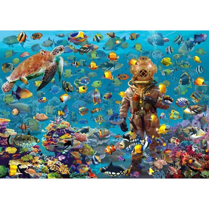 Puzzle Bluebird-Puzzle-70446 Under the Sea