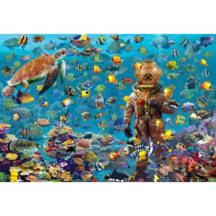 Puzzle Bluebird-Puzzle-70447 Under the Sea