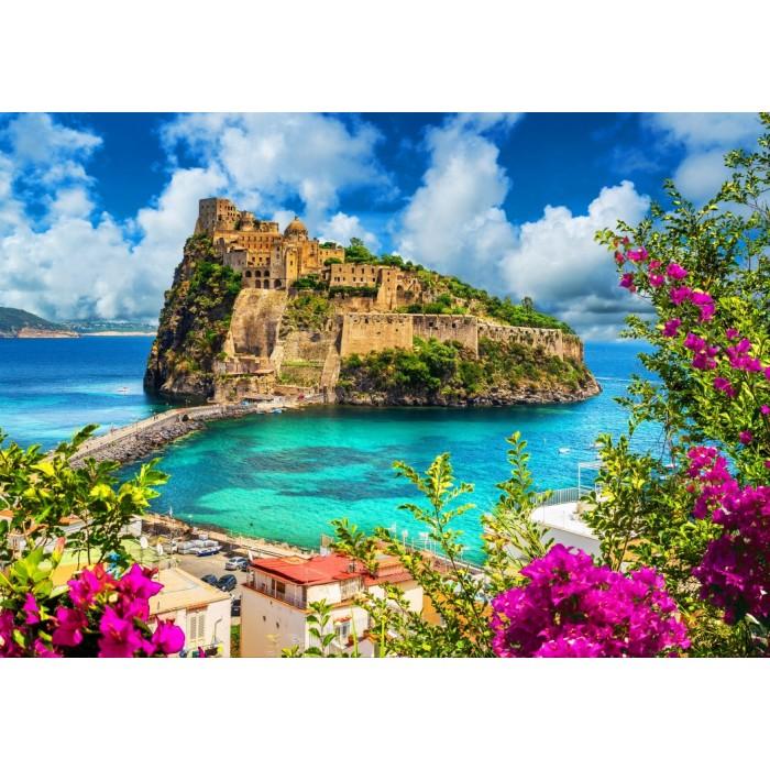 Puzzle Bluebird-Puzzle-70454 Aragonese Castle, Ischia, Italy