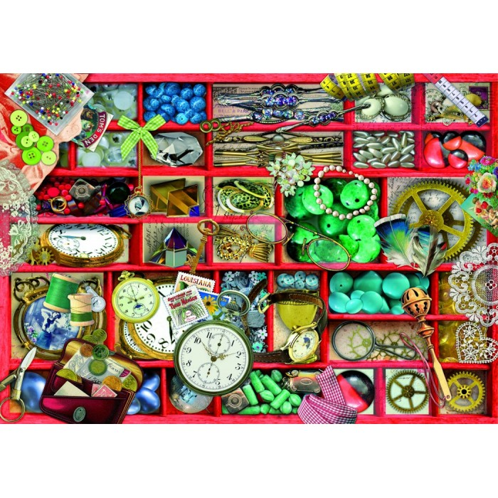 Puzzle Bluebird-Puzzle-70482 Red Collection