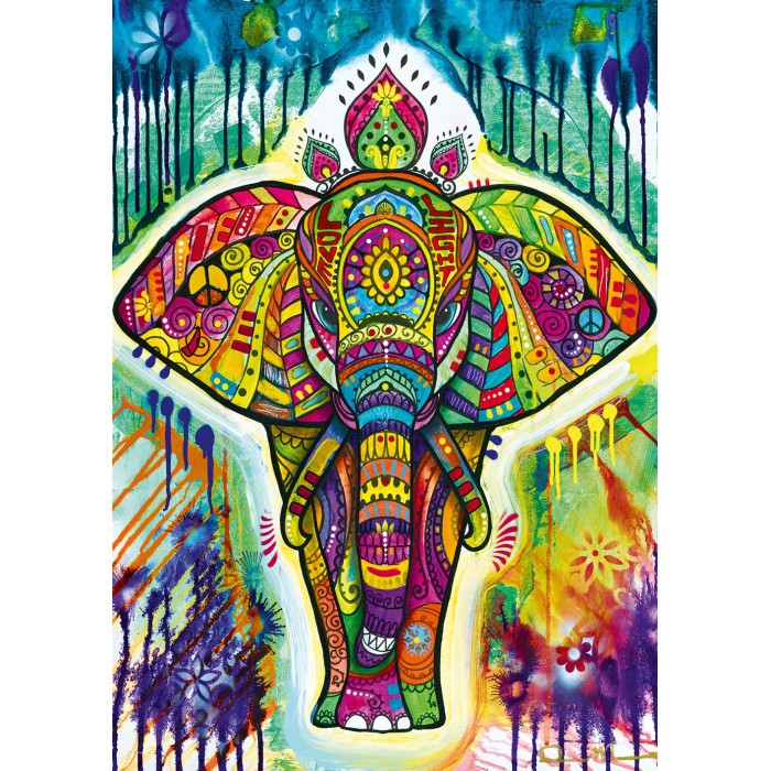 Puzzle Bluebird-Puzzle-70497-P Elephant