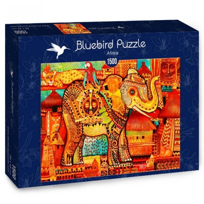 Puzzle Bluebird-Puzzle-70413 Africa