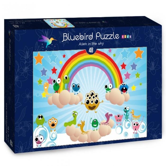 Puzzle Bluebird-Puzzle-70366 Alien in the sky