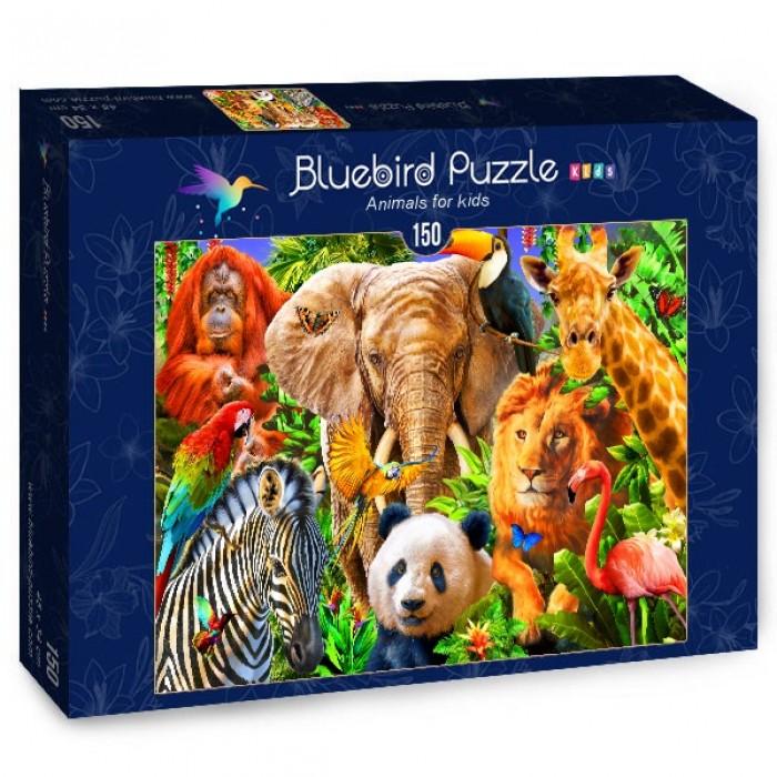 Puzzle Bluebird-Puzzle-70391 Animals for kids