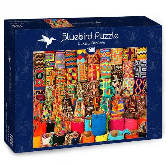Puzzle Bluebird-Puzzle-70223 Colorful Baskets
