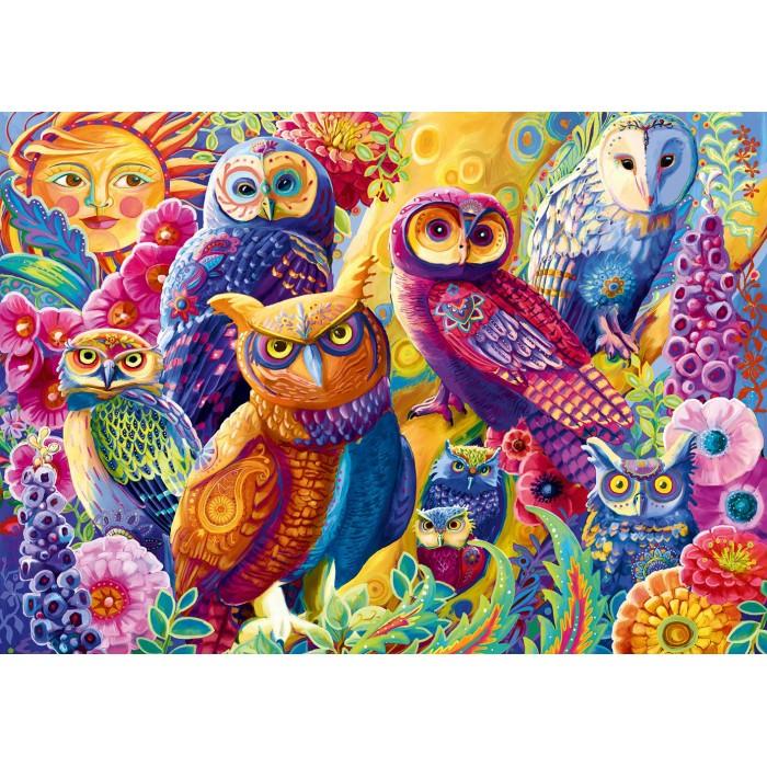 Puzzle Bluebird-Puzzle-F-90005 Owl Autonomy