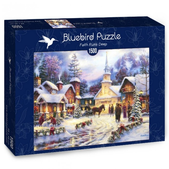 Puzzle Bluebird-Puzzle-70051 Faith Runs Deep