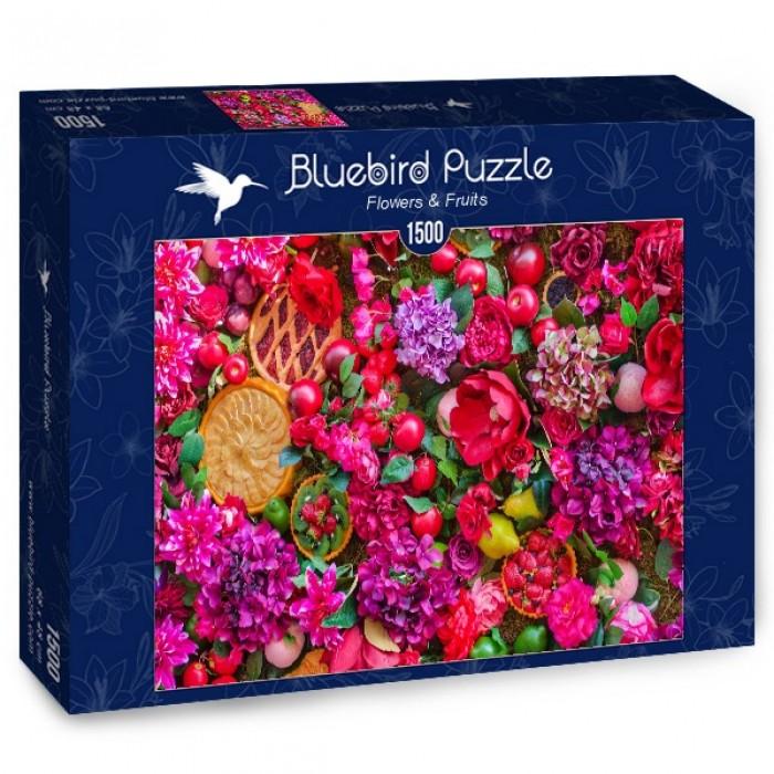 Puzzle Bluebird-Puzzle-70222 Flowers & Fruits