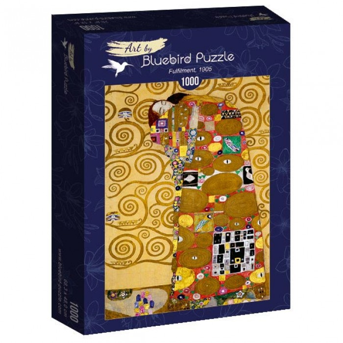 Puzzle Art-by-Bluebird-Puzzle-60016 Gustave Klimt - Fulfilment, 1905