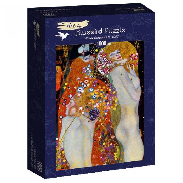Puzzle Art-by-Bluebird-Puzzle-60052 Gustave Klimt - Water Serpents II, 1907