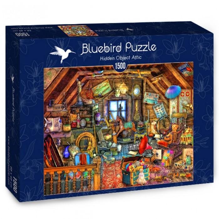 Puzzle Hidden Object Attic 1500 Pieces Bluebird Puzzle 70434