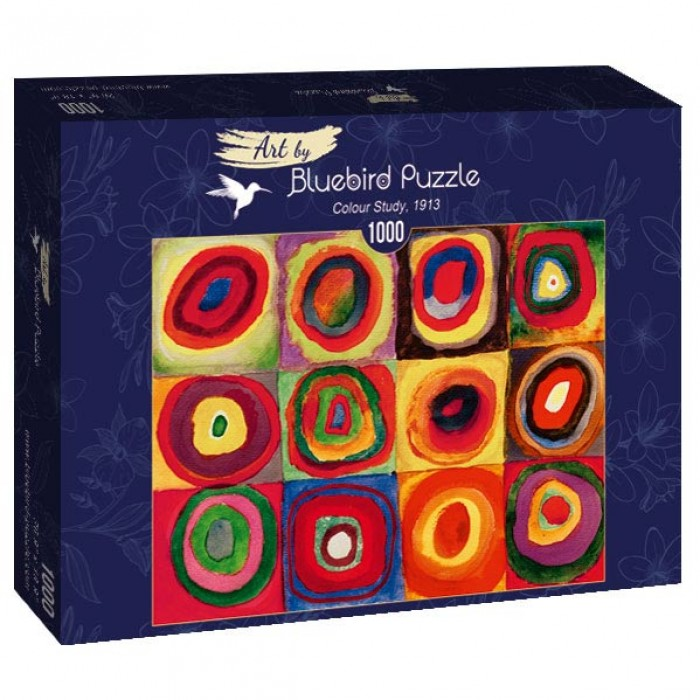 Puzzle Art-by-Bluebird-Puzzle-60035 Kandinsky - Colour Study, 1913