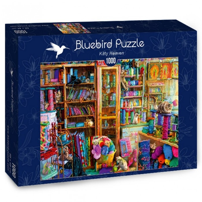 Puzzle Bluebird-Puzzle-70331-P Kitty Heaven