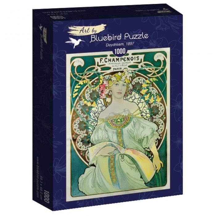 Puzzle Art-by-Bluebird-Puzzle-60033 Mucha - Daydream, 1897