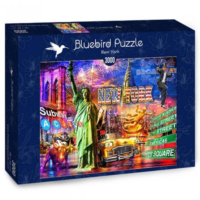 Puzzle Bluebird-Puzzle-70149 New York