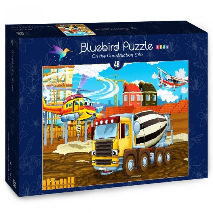 Puzzle Bluebird-Puzzle-70360 On the Construction Site