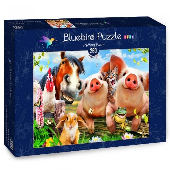 Puzzle Bluebird-Puzzle-70370 Petting Farm