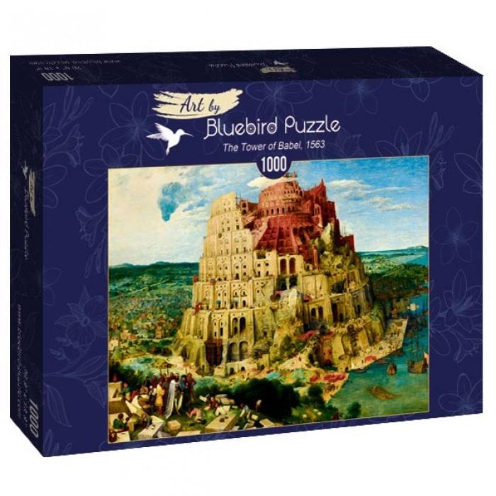 Puzzle Art-by-Bluebird-Puzzle-60027 Pieter Bruegel the Elder - The Tower of Babel, 1563