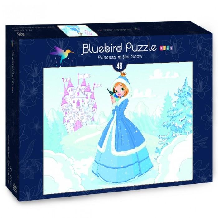Puzzle Bluebird-Puzzle-70358 Princess in the Snow