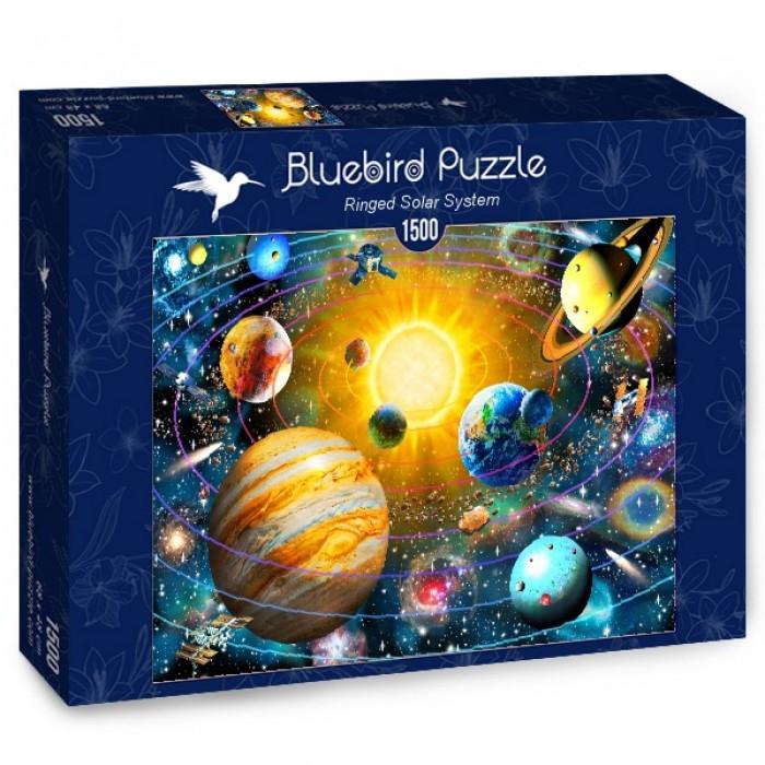Puzzle Bluebird-Puzzle-70188 Ringed Solar System