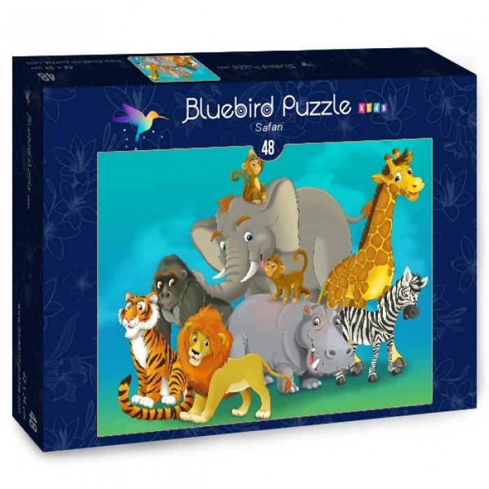 Puzzle Bluebird-Puzzle-70377 Safari