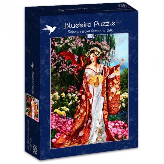 Puzzle Bluebird-Puzzle-70425 Sekkerastoya Queen of Silk