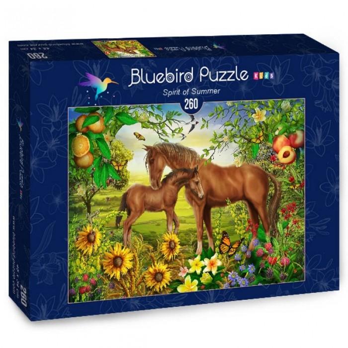 Puzzle Bluebird-Puzzle-70382 Spirit of Summer