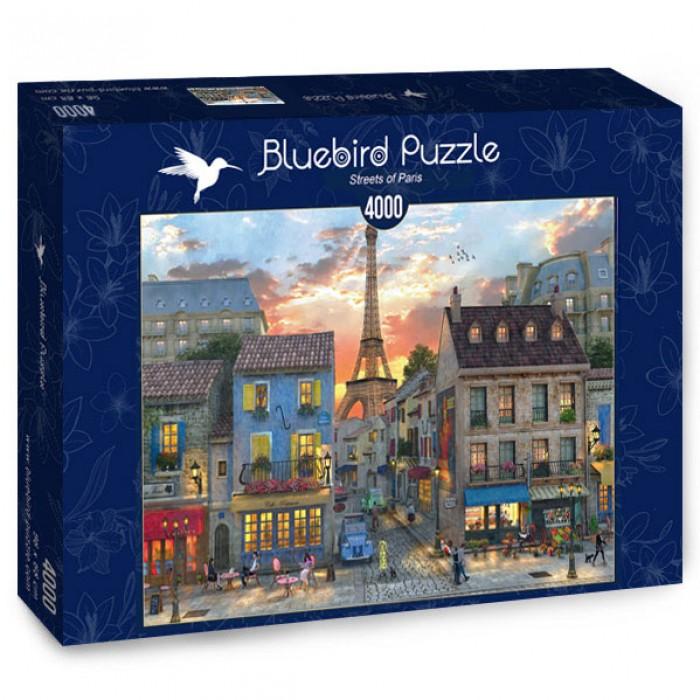 Puzzle Bluebird-Puzzle-70253-P Streets of Paris