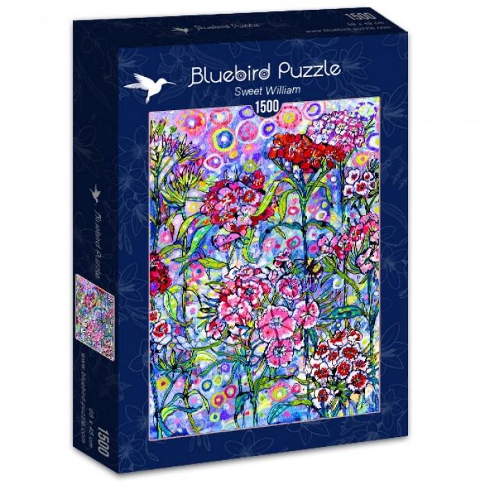 Puzzle Bluebird-Puzzle-70432 Sweet William