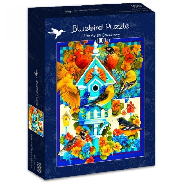 Puzzle Bluebird-Puzzle-70420 The Avian Sanctuary