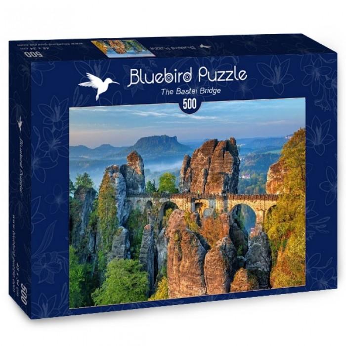 Puzzle Bluebird-Puzzle-70003 The Bastei Bridge