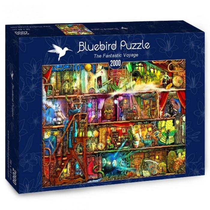 Puzzle Bluebird-Puzzle-70161 The Fantastic Voyage