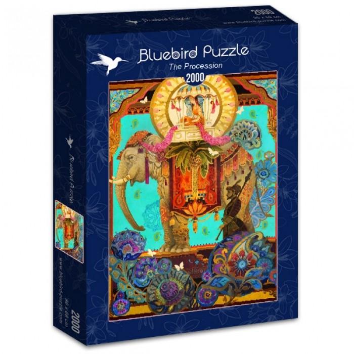 Puzzle Bluebird-Puzzle-70204 The Procession