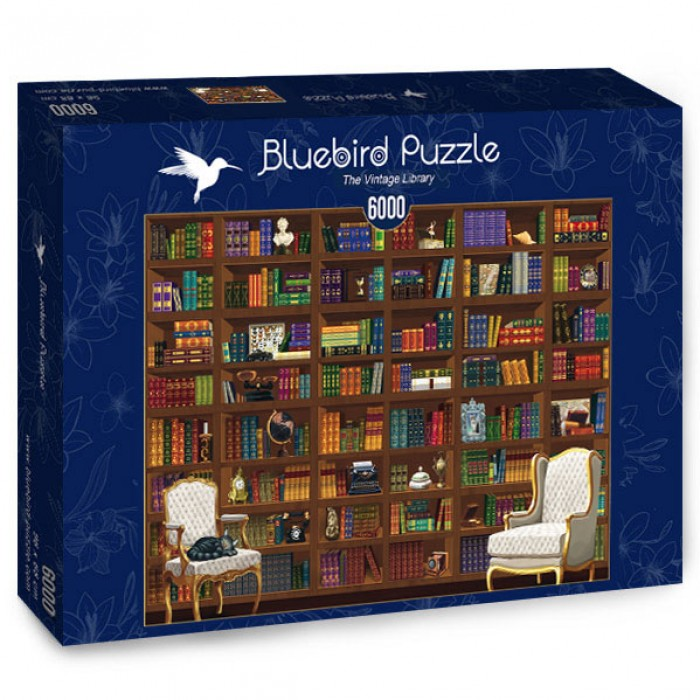 Puzzle Bluebird-Puzzle-70252-P The Vintage Library