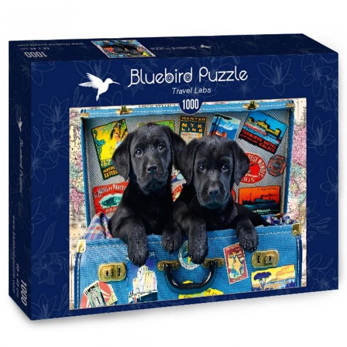 Puzzle Bluebird-Puzzle-70328-P Travel Labs