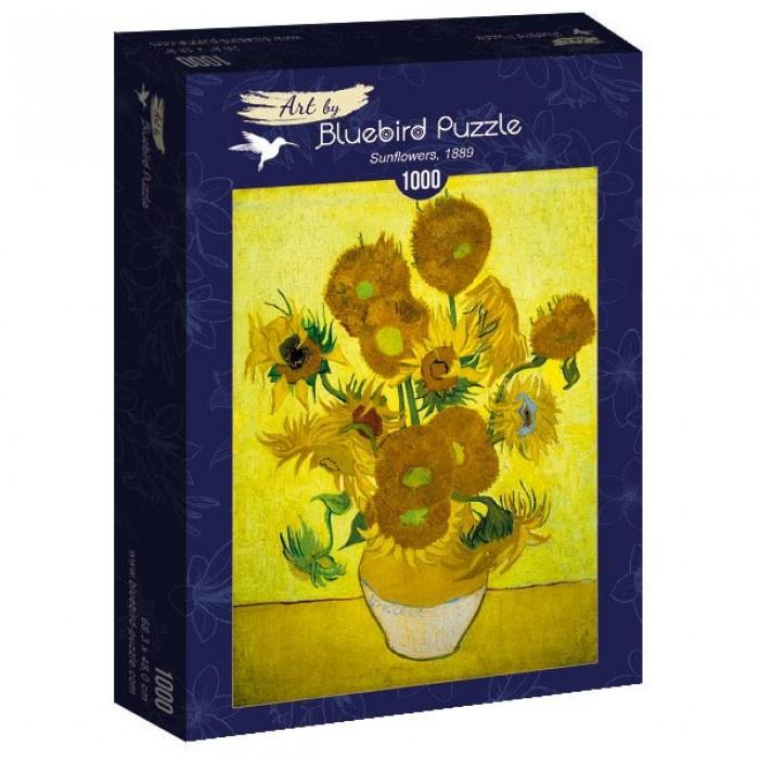 Puzzle Art-by-Bluebird-Puzzle-60003 Vincent Van Gogh - Sunflowers, 1889