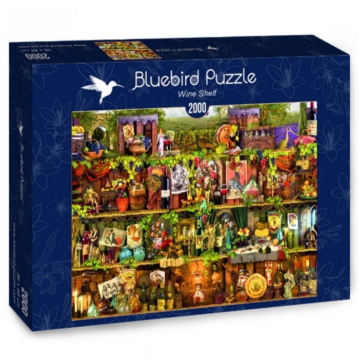 Puzzle Bluebird-Puzzle-70142 Wine Shelf